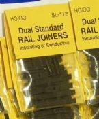 Peco SL112 Dual standard rail joiners - reduced further